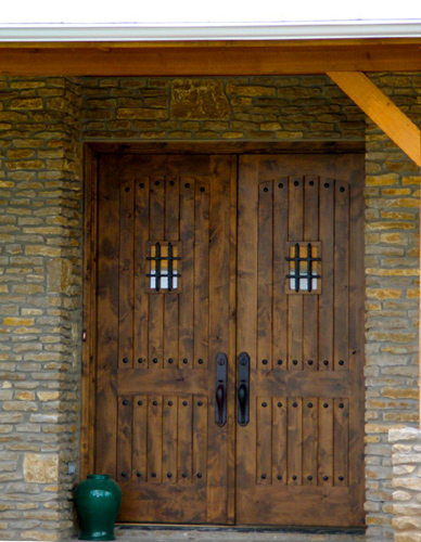 Custom front doors weatherstone homes for Custom front doors